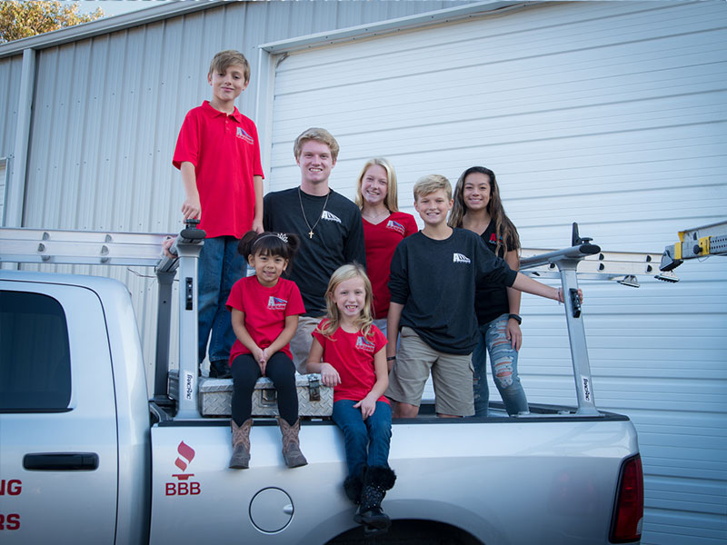 anderson roofing kids