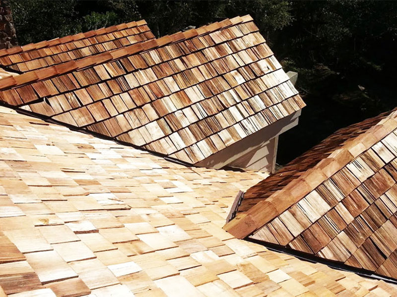 residential wood shakes