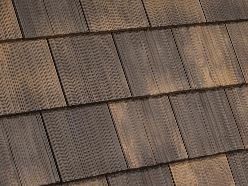 davinci roofscapes single width wood shake